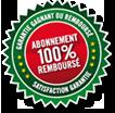Logo de garantie remboursement pronostics PMU